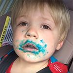Wie heeft de cupcake opgegeten?