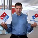 Domino's nieuw logo
