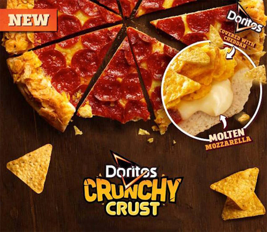 Doritos Crunch crust