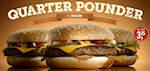 Ook drie Quarter Pounders bij Nederlandse McDonald's