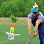 Drone pinata