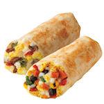 Burrito's als ontbijt bij Dunkin' Donuts
