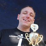 Eetkampioen Joey Chestnut