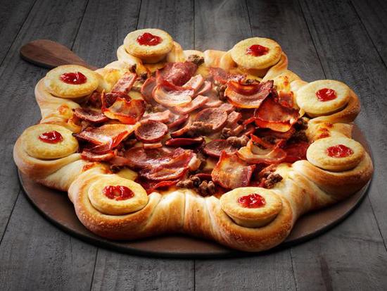 FourN Twenty Stuffed Crust Pizza