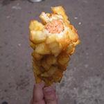 French Fry Dog: combinatie van hotdog en Franse frietjes