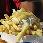 Frietje met mayonaise