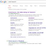 Eten bestellen via Google