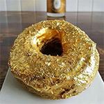 Gouden donut