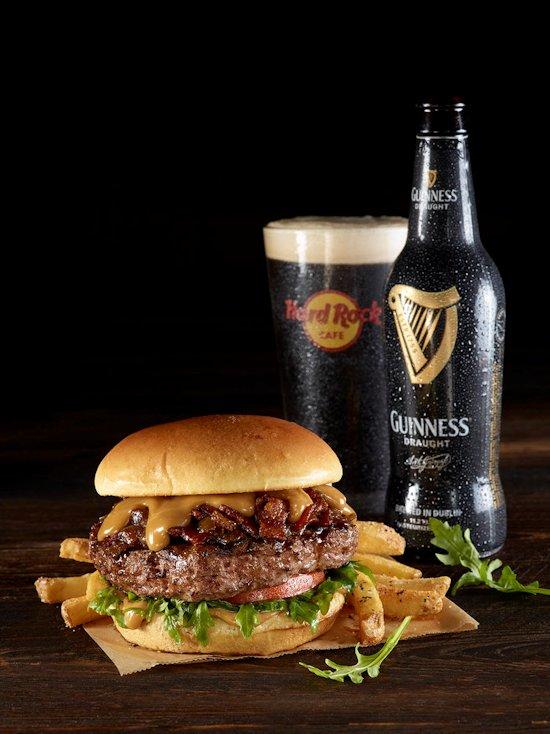 Guinness & Jameson Bacon Cheeseburger