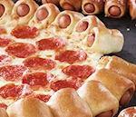 De hotdog pizza