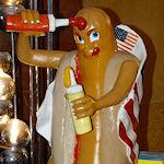 Frans restaurant verkoopt Dominique Strauss-Kahn hotdog