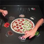 Interactieve tafel Pizza Hut