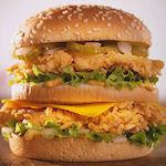 Nieuwe burger KFC lijkt veel op Big Mac