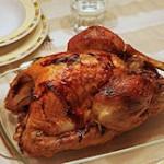 Wereldkampioenschap Thanksgiving kalkoen eten
