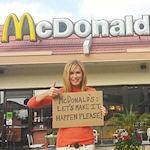 Kathy Freston voor McDonald's