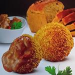 Kipsaté bitterbal van Jong Food