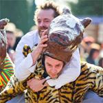 Topsport of carnaval? We gaan Knakworstrennen