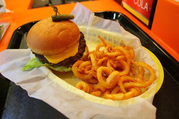 Krusty burger bord