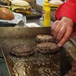 Drie hamburgers van L.A. Foods