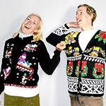 Trek die lelijke kersttrui aan en ga naar Chipotle in London