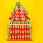 Stil, het Pringles-orgel gaat voor u spelen