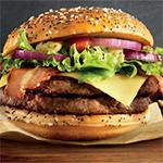 McDonald's uit liefde voor hamburger met Maestro hamburger