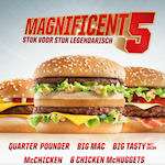 Magnificent 5 van McDonald's