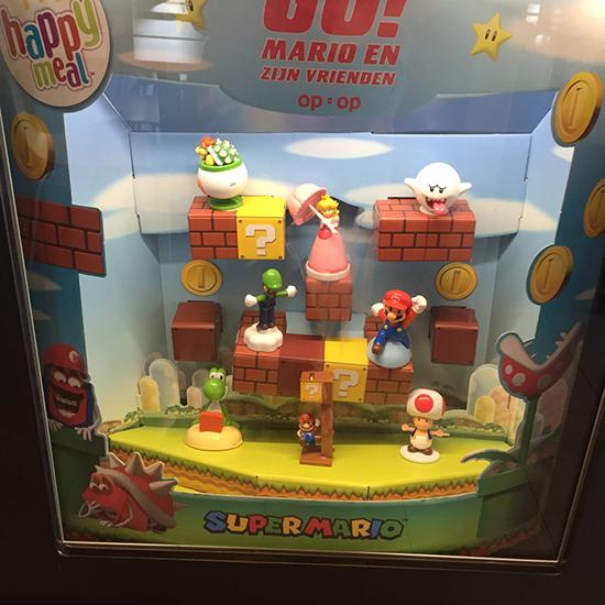 Mario figuren McDonald's