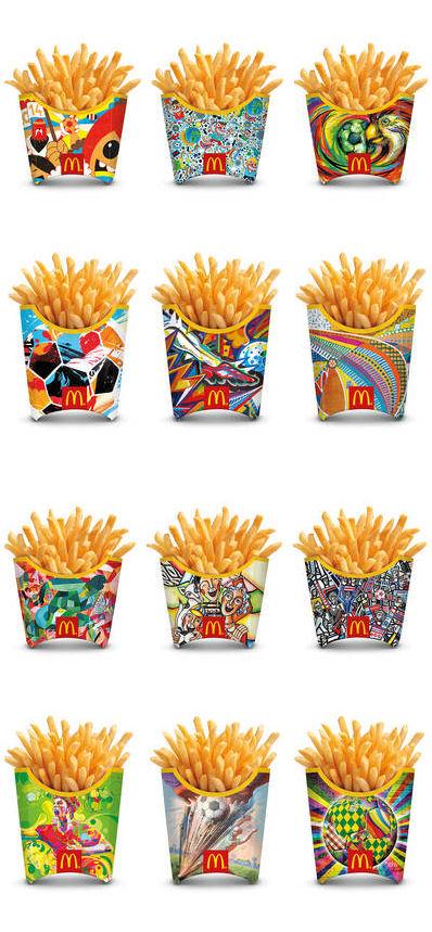 McDonald's 12 WK frietbakken
