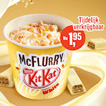 McFlurry KitKat White