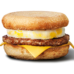 McMuffin sausage & egg
