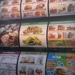 Menukaart fastfood