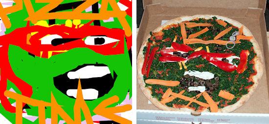 Paint your pizza
