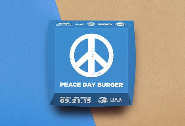 Peace day burger