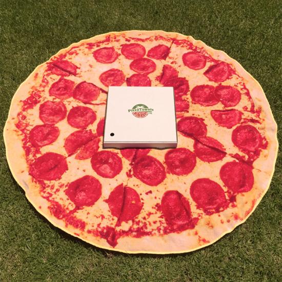 Pizza handdoek