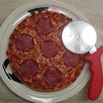 Pizza snijden