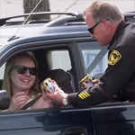 Chauffeurs worden aangehouden omdat ze geen ijs eten
