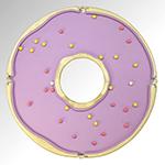 Pooltafel in vorm van donut