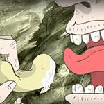 Deze Pringles cartoon is niet voor jeugdige kijkers