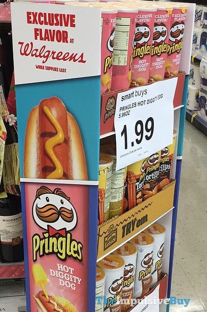 Pringles hot dogs