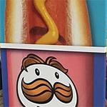 Pringles met hot dogs smaak
