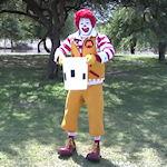 Ronald McDonald ALS Ice bucket Challenge