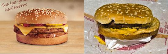 Snack vergelijking: Burger King