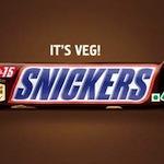 Snickers komt met vegetarische reep