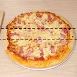 Steel stiekem een stuk pizza