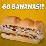 Subway bananenbroodje