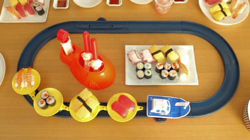 Sushi set boven