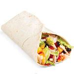 Zomerse wrap en salade bij Taco Mundo