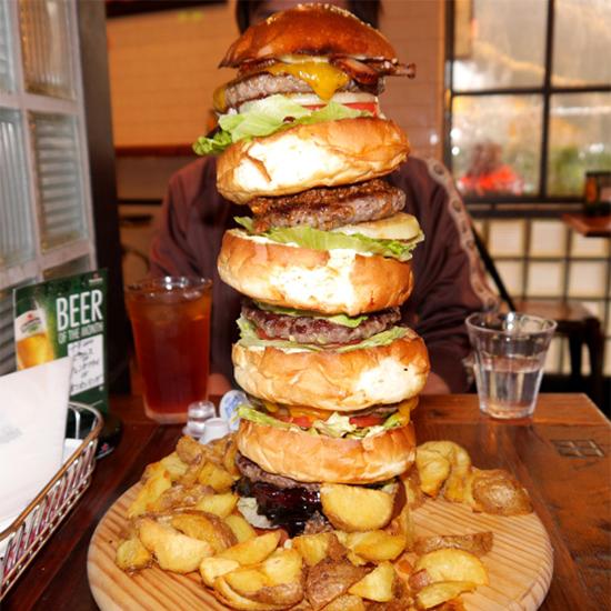 Tokyo's massive Monster Burger