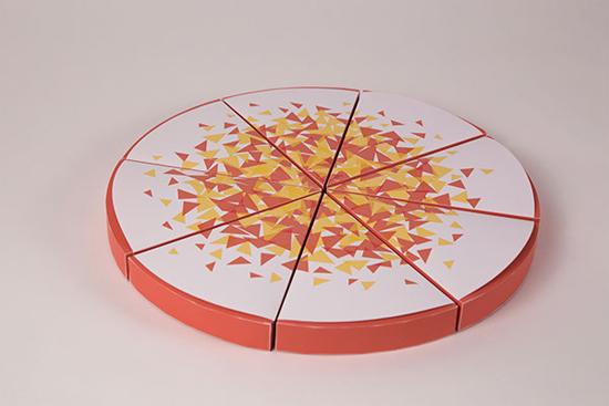 Toss Gourmet Pizza Box